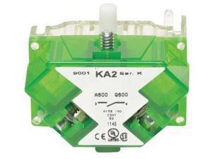 SCHNEIDER ELECTRIC 9001KA2 1NO Green Cover Push Button Contact Block