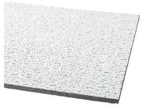 ARMSTRONG 895A Fissured Ceiling Tile , 24 in W x 48 in L, 6 PK, 0.55 NRC