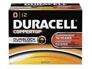 Duracell Coppertop MN1300 Size D Alkaline Battery, 12-box