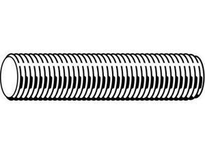 """x 1-1//8/"""" L x 1//2/"""" W Grade 5 Steel Zinc ZORO SELECT 204605BG 5//16/""""-24 Dia"""