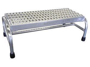 COTTERMAN 1801N3232A3E12B1C50P6 1 Step, Aluminum Step Stand, 500 lb. Load