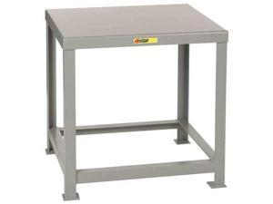 """LITTLE GIANT MTH1-3036-24 Fixed Work Table,Steel,36"""" W,30"""" D"""