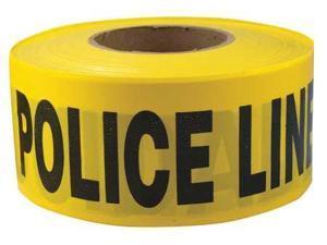 ZORO SELECT 1N956 Barricade Tape,Yellow//Black,1000ft x 3In