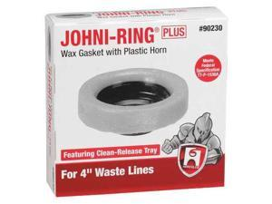 HERCULES 90230 Toilet Bowl Ring, Wax, 4in