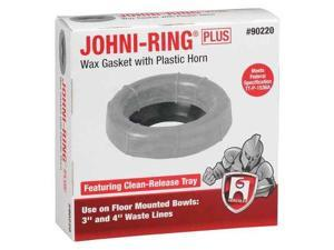 HERCULES 90220 Toilet Bowl Ring, Wax, 3in to 4in