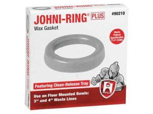 HERCULES 90210 Toilet Bowl Ring, Standard, Wax, 3in-4in