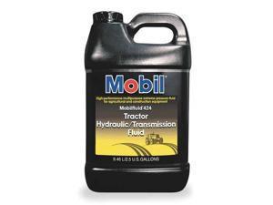 MOBIL 101189 Mobilfluid 424,Tractor Hydraulic,2.5 gal