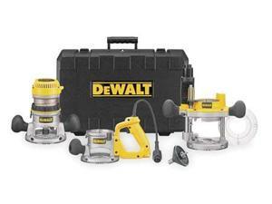 Dewalt DW618B3 2-1/4 HP EVS Three Base Router Kit