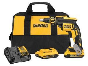 Dewalt DCF620D2 20V MAX XR Cordless Lithium-Ion Brushless Drywall Screwgun Kit