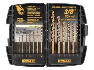 DEWALT DWA1240 Drill Bit,Gold Ferrous Oxide G0375606