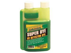 SUPERCOOL D8 A/C Leak Detection Dye, 8 Oz
