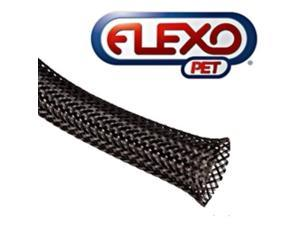 TechFlex 1/4in Expandable Sleeving, Black - 200ft