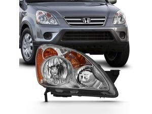 For 2005-2006 Honda CRV CR-V [Halogen Style] 4DR Headlight Passenger Right Side Replacement 05 06 Headlamp