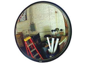 ZORO SELECT SCVI-26Z-PC-VT Indoor Convex Mirror,26 in dia,Polycarb
