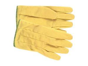 Mcr Safety Smooth Coated Gloves, Glove Size: L, Yellow Yellow   9850L