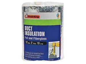 FROST KING SP55/6 Duct Insulation,Fiberglass,15 ft. L