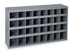 DURHAM MFG 357-95 Prime Cold Rolled Steel Pigeonhole Bin Unit , 12 in D x 19