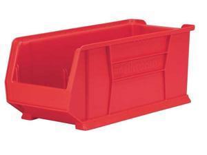 """AKRO-MILS 30286RED Red Super Size Bin, 23-7/8""""L x 11""""W x 7""""H"""