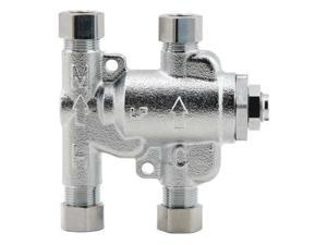POWERS LFE480-11 Thermostatic Mixing Valve,3//8 in.