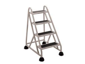CRAMER 1040-19 4 Steps, Aluminum Step Stand, 300 lb. Load Capacity, Beige