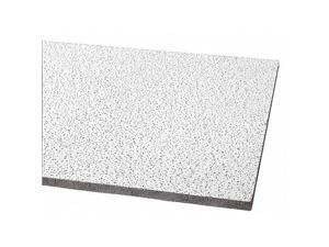 Armstrong 672 Kitchen Zone Tm Ceiling Tile 24 In W X 48 In L 12 Pk Newegg Com