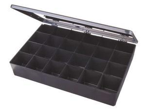"FLAMBEAU C824 ESD Compartment Box, 13"" W x 8-3/4"" L x 2-3/8"" H"