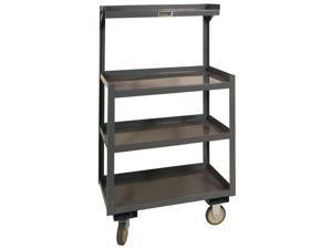 DURHAM MFG PSD-2430-4-95 Steel Cart, 1200 Lbs, 4 Shelves