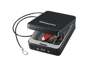 SENTRY SAFE P005C Compact Safe,0.05 cu ft,Black