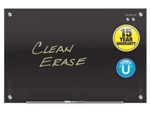 "QUARTET G2418B 18""x24"" Magnetic Glass Dry Erase Board, Gloss"