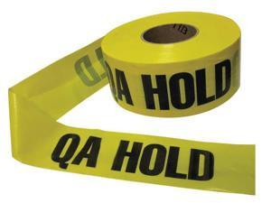 ZORO SELECT 28074   3 X 1000'L Barricade Tape,Yellow/Black,1000ft x 3In