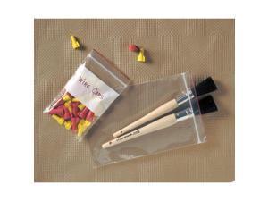 "MINIGRIP RED LINE MGRL2P0406 Reclosable Poly Bag Zipper Seal 6"" x 4"", 2 mil,"