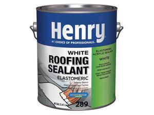 HENRY HE289046 Roofing Sealant, 1 gal, Pail, White