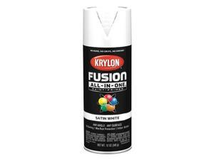 Krylon Fusion All-In-One Satin Spray Paint & Primer, White K02753007