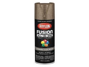 Krylon Fusion All-In-One Hammered Spray Paint & Primer, Dark Bronze K02787007