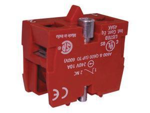DAYTON 35V483 Contact Block,1NC,22 MM
