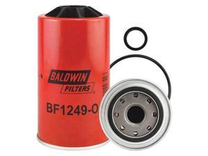 BALDWIN FILTERS BF1249-O Fuel Filter,Spin-On,3-13/16 in.L