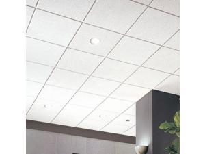 """12PK ARMSTRONG 578B Mineral Fiber 24/""""Lx24/""""W Ceiling Tile Cirrus"""