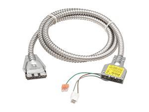 """LITHONIA LIGHTING OFC 120 12/2G 11 M10 Fixture Cable,132"""" L,120V"""