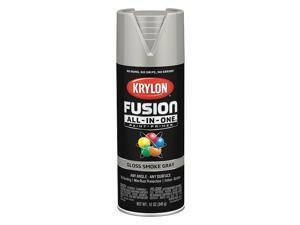 Krylon Fusion All-In-One Gloss Spray Paint & Primer, Smoke Gray K02723007