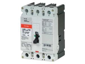 EATON FD3030 30 A A Free Standing Standard Molded Case Circuit Breaker , 600V AC