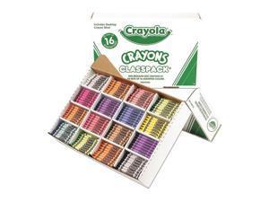 Crayola. 528016 Classpack Regular Crayons, 16 Colors, 800/BX