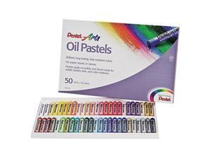 Oil Pastel Set With Carrying Case,45-Color Set, Assorted, 50/Set - PHN50