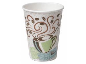 DIXIE 5342CDSBP Disposable Hot Cup, 12 oz., White, PK960