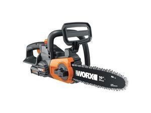 WORX - WG322 - WORX WG322 20-Volt 10-Inch PowerShare Cordless Auto-Tension Oil Tank Chainsaw