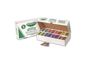 Crayola. 528008 Classpack Regular Crayons, 8 Colors, 800/BX