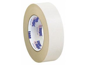 Tape Logic T9561003PK 1.50 in. x 36 yards Double Sided Masking Tape, Tan - Pack of 3