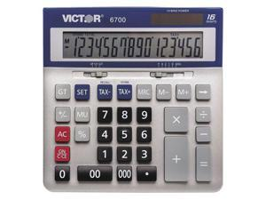 Victor 6700 16-Digit Large Desktop Calculator