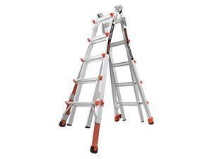 LITTLE GIANT 12022-801 Multipurpose Ladder,9 ft. 1 in.,300 lb.