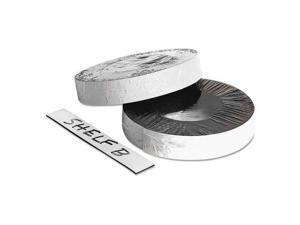 "Baumgartens Dry Erase Magnetic Label Tape White 1"" x 50 ft. 66151"