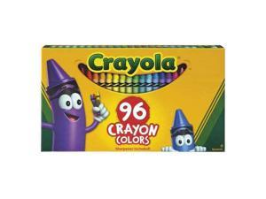 Classic Color Crayons in Flip-Top Pack with Sharpener, 96 Colors 52-0096